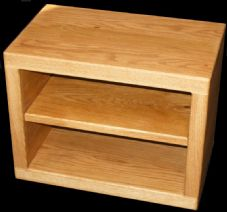 Handmade Solid Oak TV Stand/Cabinet - Choose your size